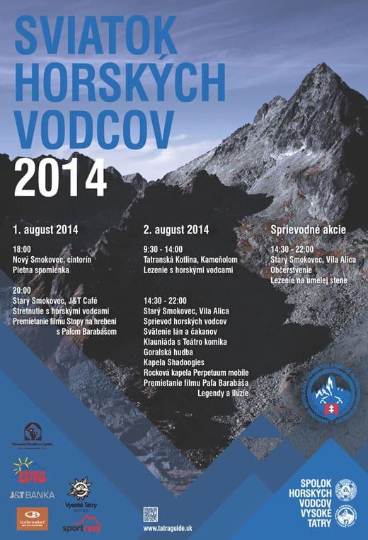Sviatok horských vodcov 2014