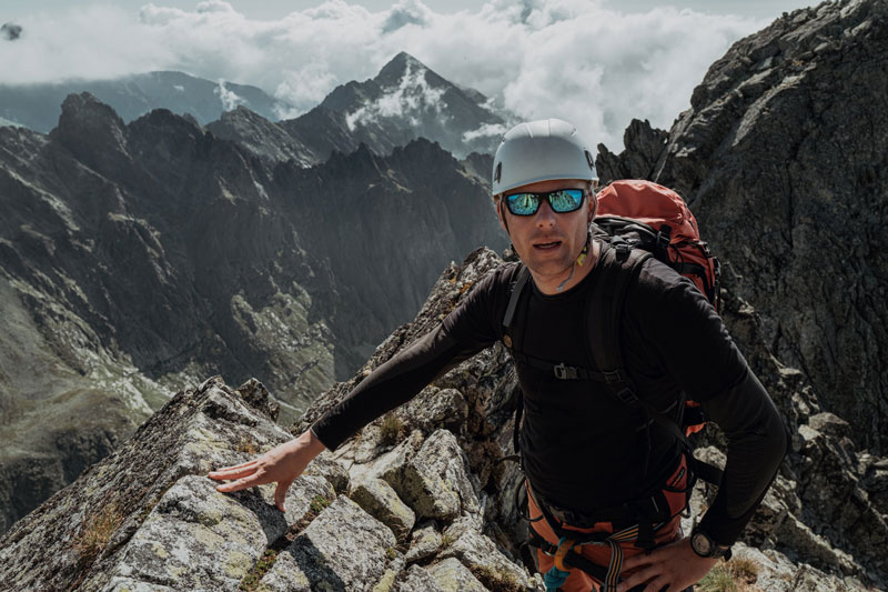 vystup na gerlach pred vrcholom