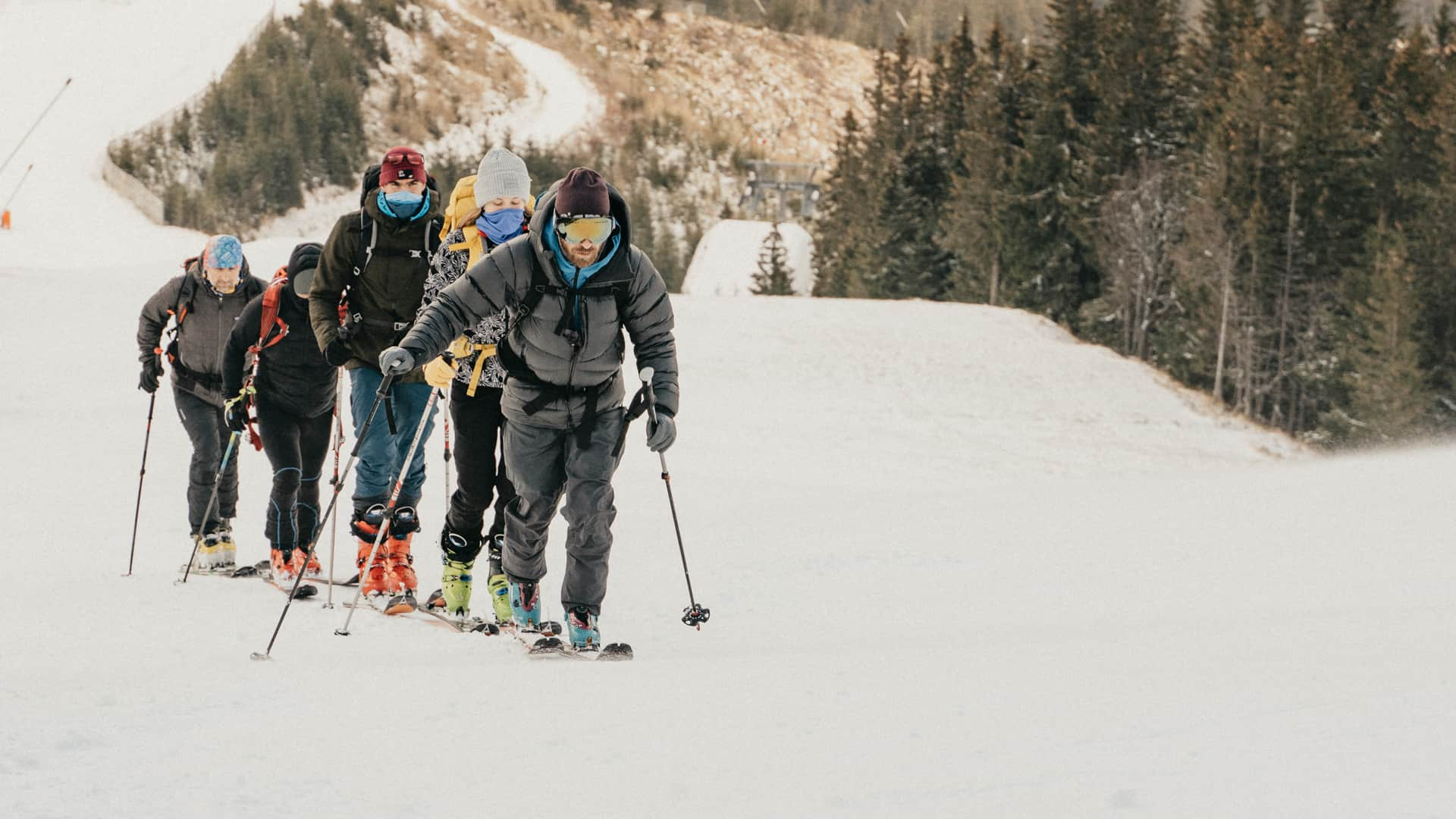 skialpinizmus s adamom bardym